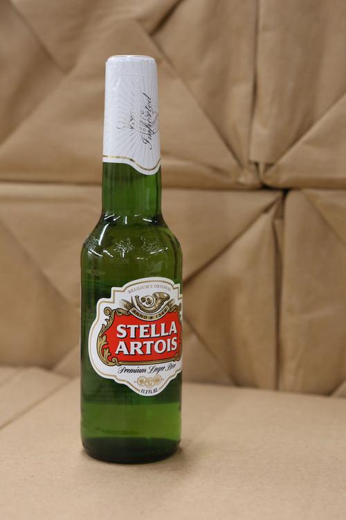 Francisco Kjolseth  |  The Salt Lake Tribune Stella Artois, which is among the best-selling liquor brands in Utah.