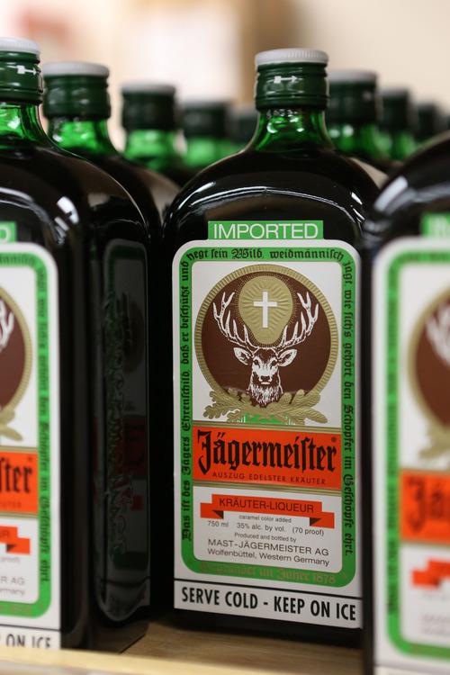 Francisco Kjolseth  |  The Salt Lake Tribune Some of the best-selling liquor in Utah.