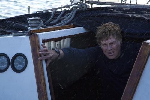 "Daniel Daza  |  Roadside Attractions Robert Redford stars in the seagoing survival drama ""All Is Lost."""
