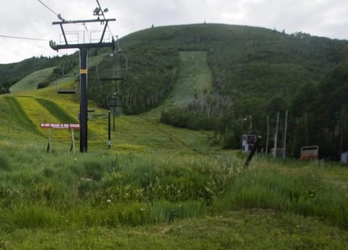 Rick Egan  | The Salt Lake Tribune  Park City Mountain Resort,  Monday, July 15, 2013.