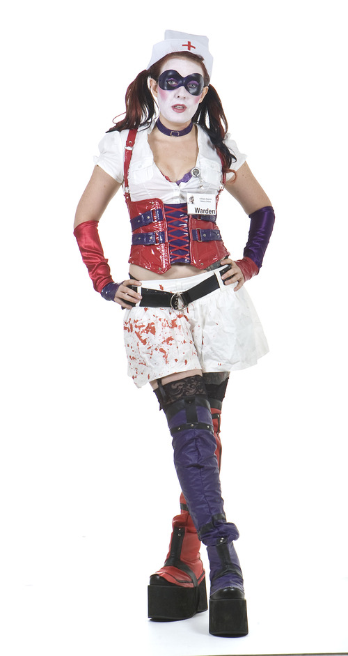 Keith Johnson | The Salt Lake Tribune  Erin Fritzsching as Harley Quinn