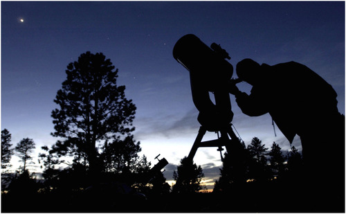 "Tribune file photo The 12th annual Bryce Canyon Astronomy Festival was May 17-20, 2012 and included viewing of the ""Ring Of Fire"" solar eclipse on May 20 at Bryce Point in Bryce Canyon National Park."