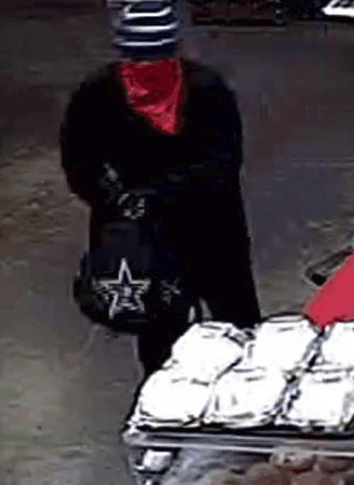 | Courtesy SGPD St. George police are seeking this man, who robbed a Maverik store Thursday.