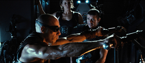 """This film image released by Universal Pictures shows Vin Diesel in a scene from """"Riddick."""" (AP Photo/Universal Pictures)"""