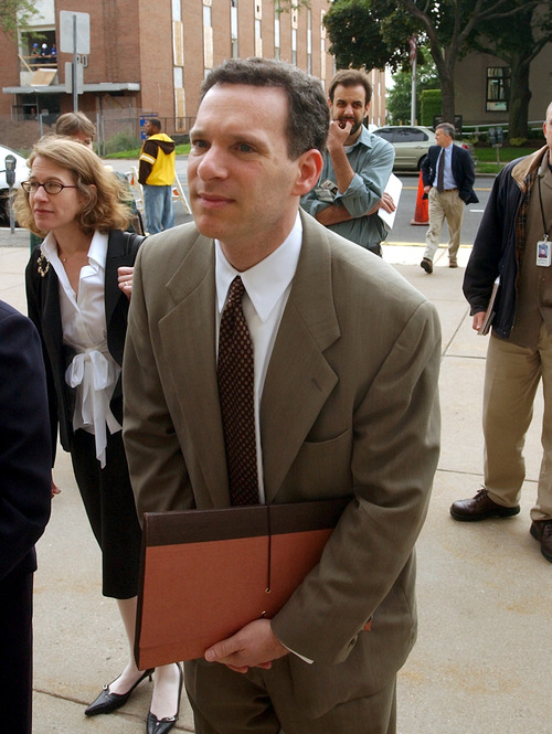 Bob Child  |  The Associated Press Steven Reich, shown here in 2004 during the investigation of Connecticut Gov. John Rowland, will lead the probe of embattled Utah Attorney General John Swallow.