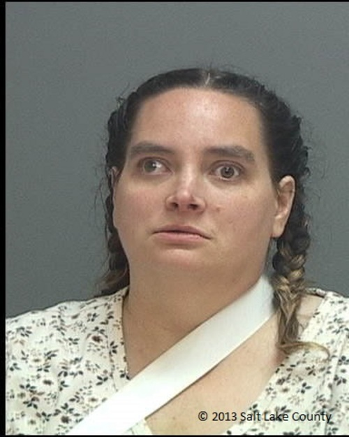 | Courtesy Salt Lake County Jail Traci Vaillancourt, who was allegedly shot and critically wounded by Timothy T. Walker, who allegedly shot and killed Draper police Sgt. Derek Johnson on Sunday, Sept. 1, 2013. Vaillancourt was arrested Saturday, Sept. 7 for investigation of obstruction of justice.