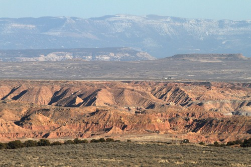 Rick Egan  | Tribune file photo  The Book Cliffs south of Vernal. Sportsmens groups are decrying a decision by the School and Institutional Trust Lands Administration to lease 80,000 acres in the Book Cliffs for oil and gas development.