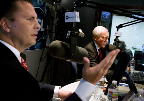 AP file photo Dan Liljenquist and Utah Sen. Orrin Hatch faced off in last year's Republican primary in the U.S. Senate race. Hatch was opposed by tea party activists and spent more than a year burnishing his conservative credentials to fend off a spirted challenge from the right.