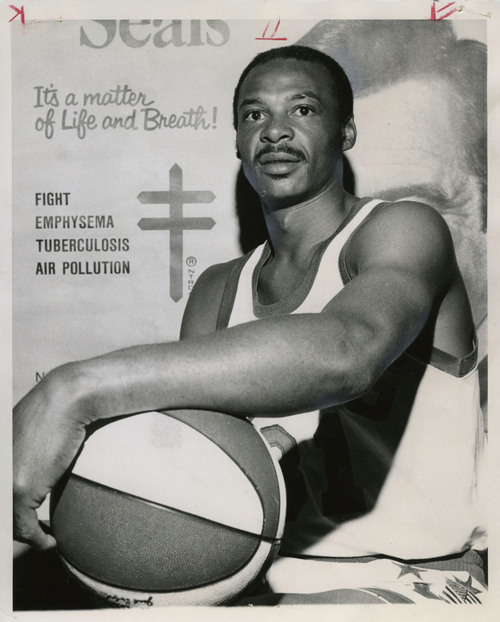 Tribune File Photo Utah Stars ABA basketball player Zelmo Beaty. Oct. 19, 1971.