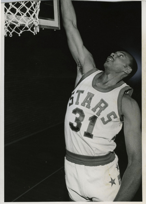 Tribune File Photo Utah Stars ABA basketball player Zelmo Beaty. Oct. 13, 1970.