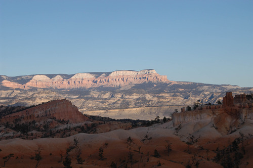 Powell Point seen from Bryce Canyon National Park