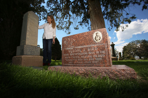 Francisco Kjolseth  |  The Salt Lake Tribune Lorna Bird Snyder's uncle, Vernal Bird, was a World War II pilot in Papua New Guinea when his A-40 light bomber vanished in the high mountains. It was around 1946 that a memorial stone was placed at Evergreen Cemetery in Springville next to his father even though Vernal's remains were unrecovered. Fast forward several decades. In 2001, a New Guinean found a leg bone and engine plates, which later was identified as being from Bird's plane. Using DNA from Vernal's sister, doctors at Hickham Air Force Base in Hawaii have recently confirmed his remains.