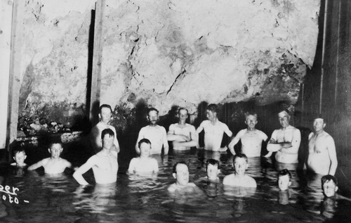 Salt Lake Tribune archive  Swimmers at Lava Hot Springs just before World War I. The springs are in what was previously known as Dempsey, Idaho