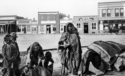 Salt Lake Tribune archive  Blackfoot Indians in Pocatello, Idaho.