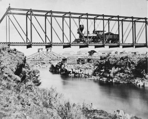 Salt Lake Tribune archive  Union Pacific railroad in Southeastern Idaho.