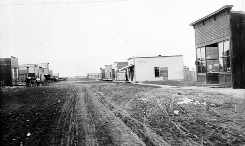 Salt Lake Tribune archive  Main Street in Idaho Falls around 1890.