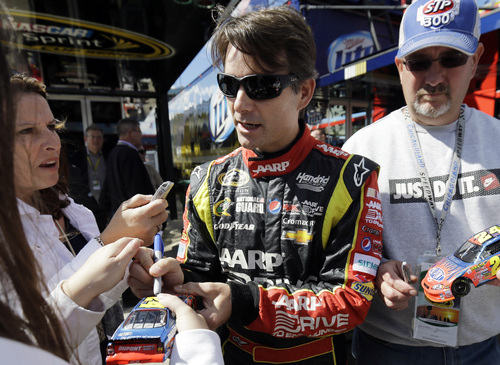 Nam Y. Huh | The Associated Press NASCAR added Jeff Gordon to the Chase on Friday after saying that other teams consipired to keep him out of the 10-race playoff.