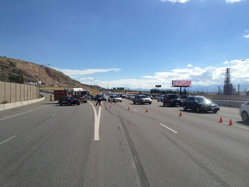 Motorcyclist seriously hurt in Interstate 15 crash - The