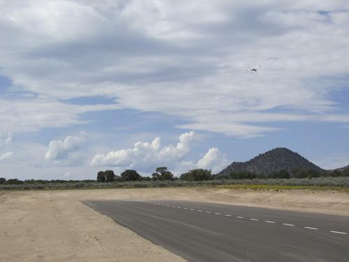 Tom Wharton     The Salt Lake Tribune Landing strip at new Three Peaks Modelport Field near Cedar City.