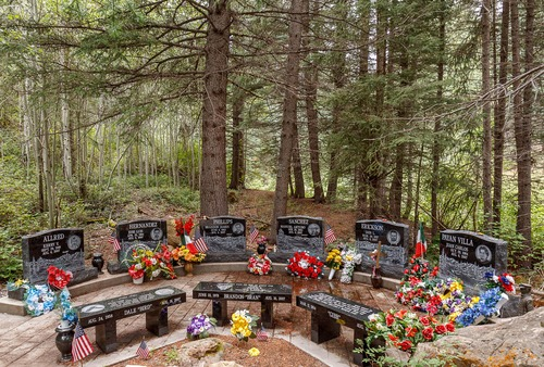 Trent Nelson  |  Tribune file photo  The memorial to six miners and three rescuers who died in the 2007 Crandall Canyon Mine disaster near Huntington.