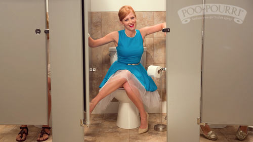 BYU student Bethany Woodruff appears in a commercial for Poo~Pourri toilet spray. (Courtesy photo)