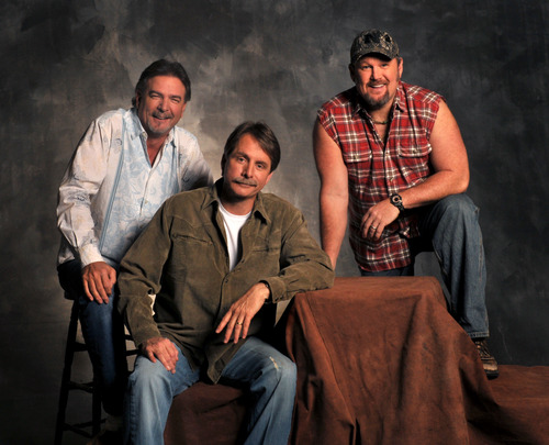 From left, Bill Engvall, Jeff Foxworthy and Larry the Cable Guy. Foxworthy will headline Gov. Gary Herbert's annual fundraising gala Friday.
