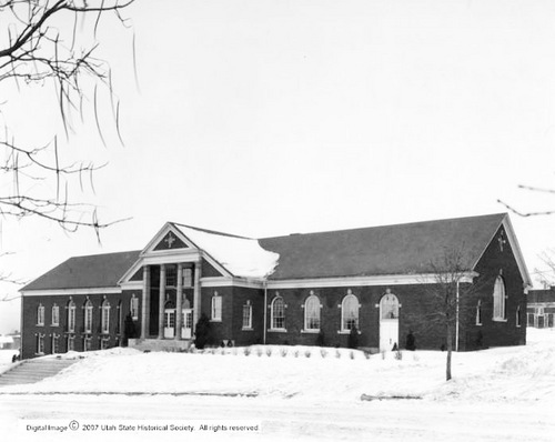 | Courtesy Utah State Historical Society Yale Ward (1930s)