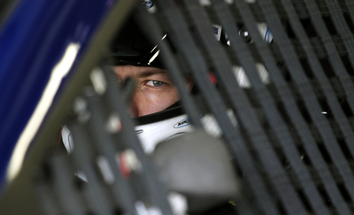 Driver Brad Keselowski heads out for practice Saturday, Sept. 21, 2013, for Sunday's NASCAR Sprint Cup series auto race at New Hampshire Motor Speedway in Loudon, N.H. (AP Photo/Cheryl Senter)