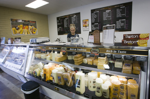 Rick Egan  | The Salt Lake Tribune   Hollie Henderson works in the Deli at Apple Creek Bulk Foods, 875 N. Main, Willard, on Highway 89, Wednesday, September 4, 2013.