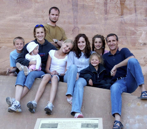 | Courtesy Daniel Swindler's Family Daniel Swindler, in the back row, went missing in 2010. It was not until earlier this month that his family identified the remains of a man who fell into a South Carolina spillway as him.