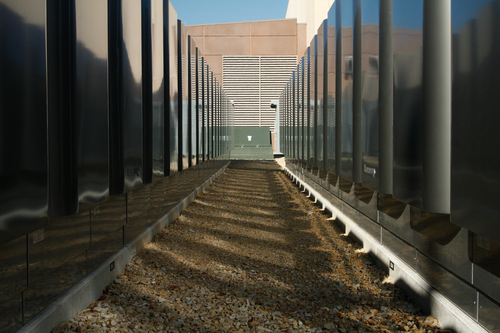 | Courtesy The new eBay data center in South Jordan. The new building uses cleaner energy to power its servers.