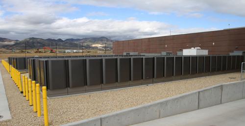 Rick Egan  | The Salt Lake Tribune   Bloom Energy Servers are part of the new phase of the eBay data center in South Jordan, Thursday, September 26, 2013.
