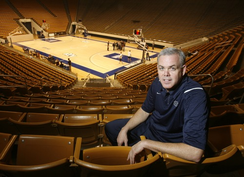Rick Egan   |  The Salt Lake Tribune  Having successfully battled cancer last summer, BYU basketball coach Dave Rose just put together the best season of his coaching career, Monday, March 8, 2010