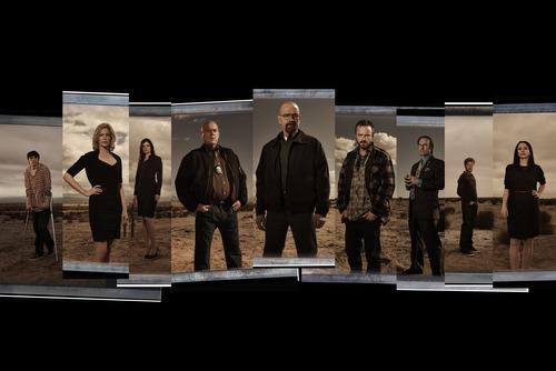 "Rj MItte, Anna Gunn, Betsy Brandt, Dean Norris, Bryan Cranston, Aaron Paul, Bob Odenkirk, Jesse Plemons and Laura Fraser star in ""Breaking Bad"" Courtesy photo"