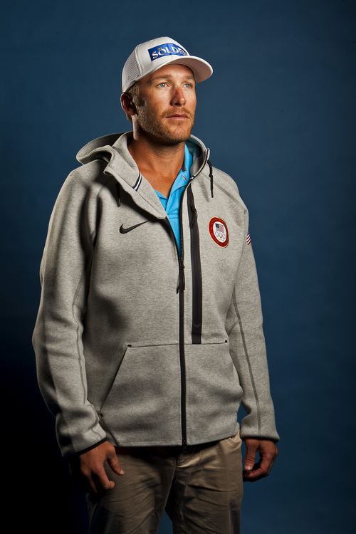 Chris Detrick  |  The Salt Lake Tribune Bode Miller poses for a portrait during the Team USA Media Summit at the Canyons Grand Summit Hotel Monday September 30, 2013.