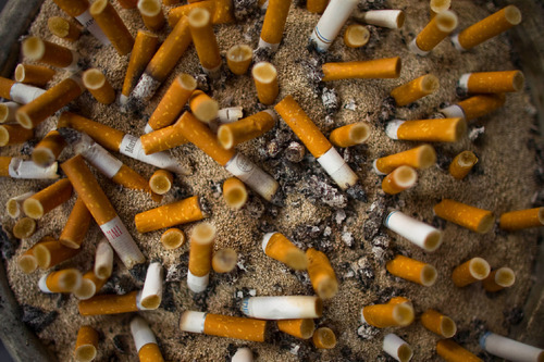 (AP Photo/Victor R. Caivano) Some lawmakers in Utah are seeking to inrease the legal smoking age to 21.