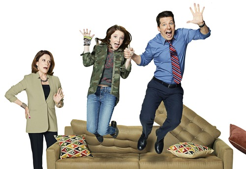 "| Courtesy Linda Lavin, Samantha Isler and Sean Hayes star in NBC's new sitcom ""Sean Saves the World."""