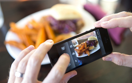 Courtesy of Brigham Young University  New research from BYU finds that going on a binge of looking at pictures of food can make you enjoy eating less.