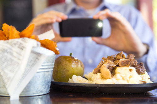 Courtesy photo   Brigham Young University  New research from BYU finds that going on a binge of looking at pictures of food can make you enjoy eating less.
