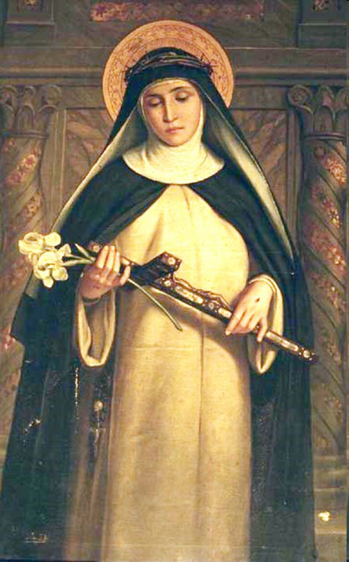 Saint Catherine of Siena. From chiesa di Santa Maria del Rosario in Prati, Roma