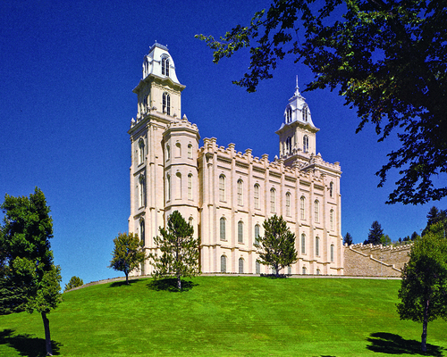 Manti Temple  photo courtesy The Church of Jesus Christ of Latter-day Saints