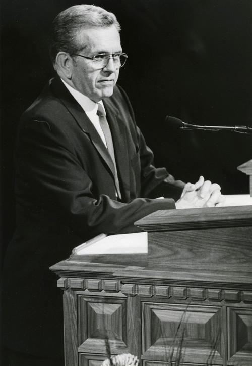 LDS apostle Boyd K. Packer. Tribune file photo.