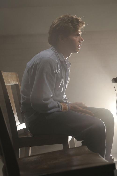 "Courtesy photo Evan Peters as Kit in ""American Horror Story: Asylum."""