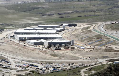Francisco Kjolseth | Tribune file photo  An aerial view of the NSA's Utah Data Center in Bluffdale, Utah, Thursday, April 18, 2013. T
