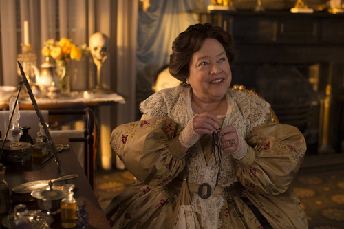 "| Courtesy Kathy Bates as Madame LaLaurie in FX's ""American Horror Story: Coven."""