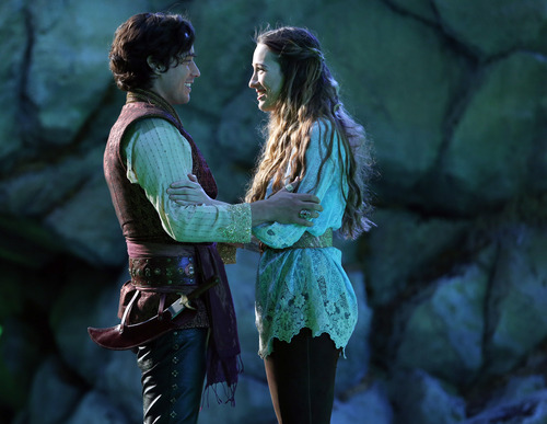 | Courtesy Peter Gadiot and Sophie Lowe star in the ABC spinoff series ìOnce Upon a Time in Wonderland.î