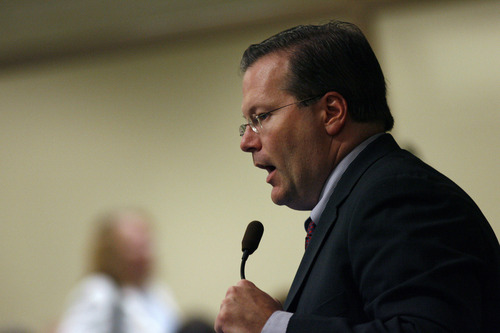 Chris Detrick   Tribune file photo Sen. Stephen Urquhart, R-St. George, says it is time to get rid of Utah's driving privilege cards for undocumented drivers and to scrap the guest worker law for undocumented immigrants.