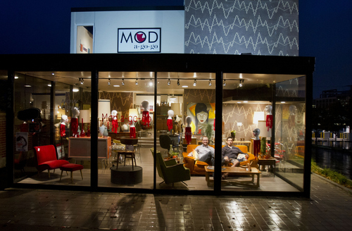 39 Mad Men 39 Meets Modern Art At Downtown Salt Lake City Shop