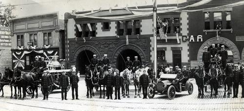 Tribune file photo  Salt Lake City Fire Department, 1909