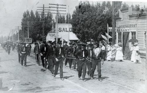 Tribune file photo  Sandy Volunteer Fire Department, 1906